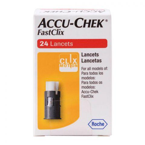 Accu-Chek FastClix Lancets, 24 Count
