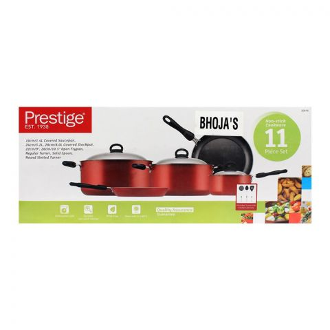 Prestige Non-Stick Cooking Set 11-Pack - 20916