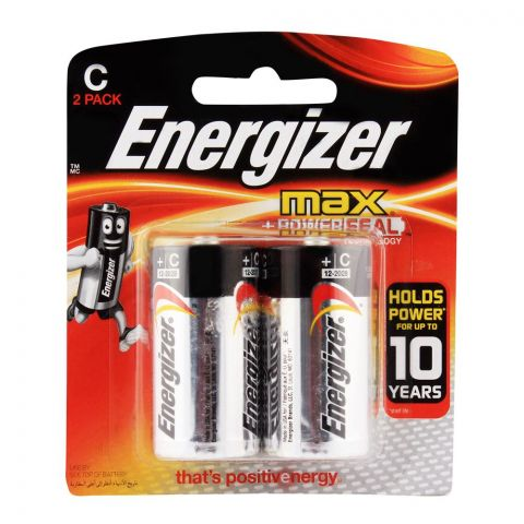 Energizer C Alkaline Batteries BP-2