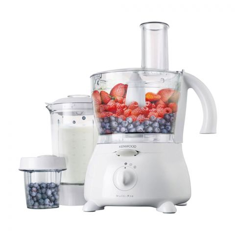Kenwood Multi Pro Food Processor, 3 Litre, 900W, White, FP691