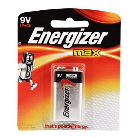 Energizer 9V Max Battery BP-1