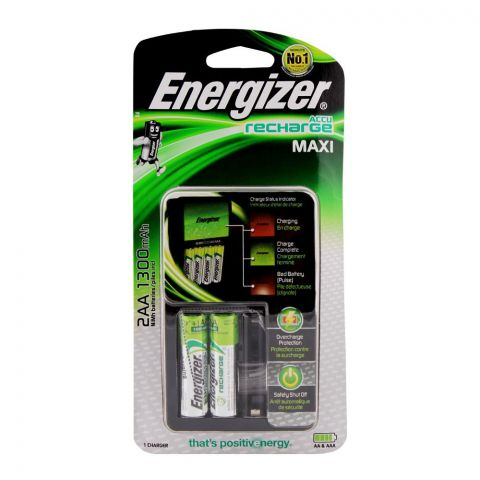 Energizer Value Charger 2xAA Batteries