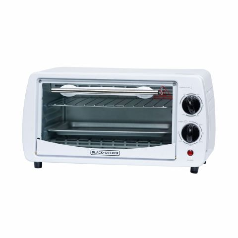 Black & Decker Oven Toaster, 9 Liters, 800W, TRO1000