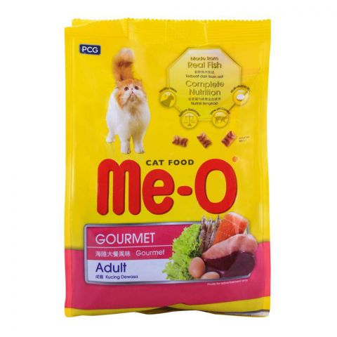 Me-O Adult Gourmet Cat Food 400g