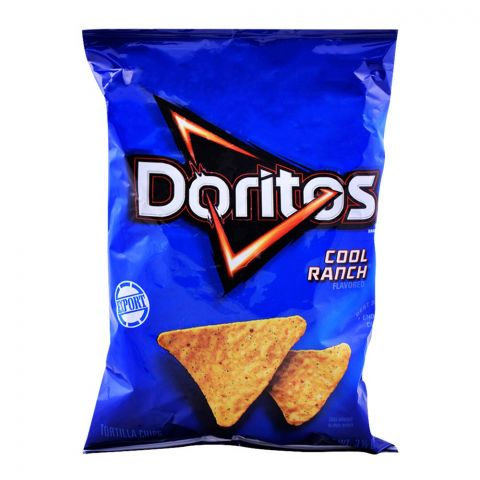 Doritos Cool Ranch Tortilla Chips (Imported), 92.1g/3.25oz