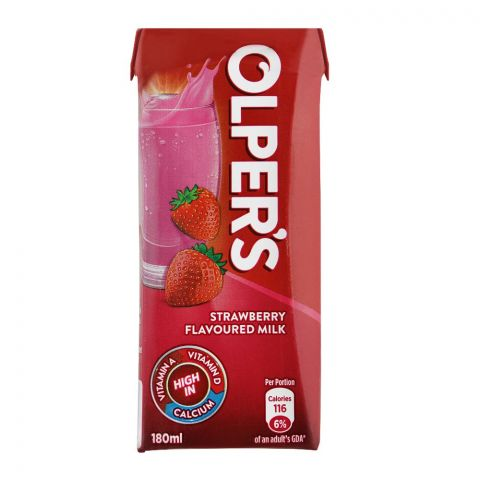 Olper's Strawberry Flavoured Milk, 180ml