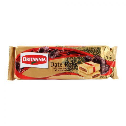 Britannia Date Rolls 90gm