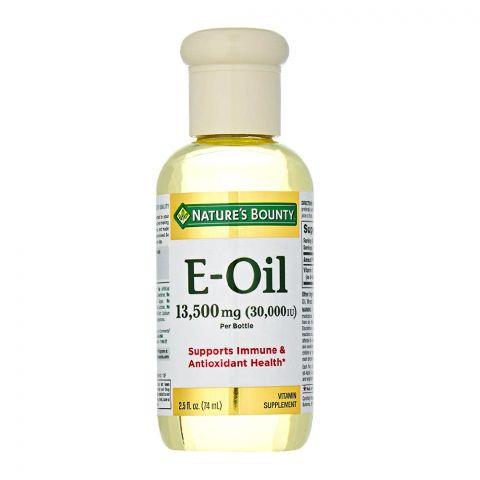Nature's Bounty E-Oil 13500mg, 74ml, Vitamin Supplement