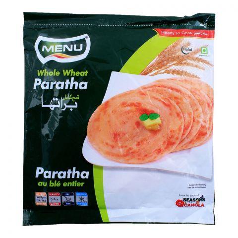 Menu Whole Wheat Paratha, 5 Pieces