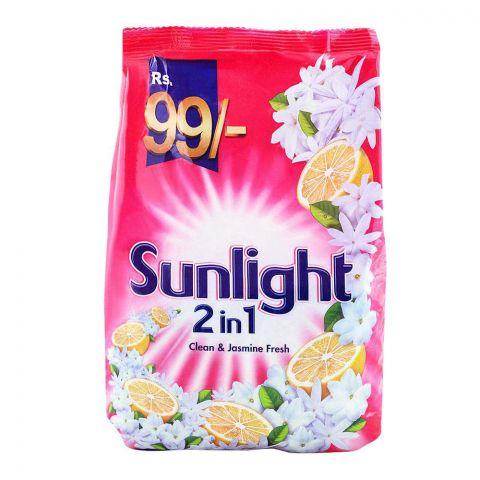 Sun Light 2-in-1 Clean & Jasmine Fresh Washing Powder 800g