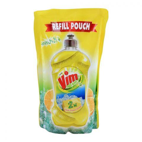Vim Lemon Dishwash Active Gel Refill Pouch 750ml