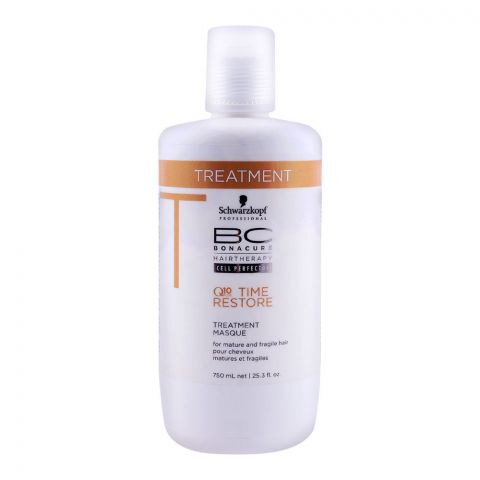 Schwarzkopf Bonacure Q10 Time Restore Treatment 750ml