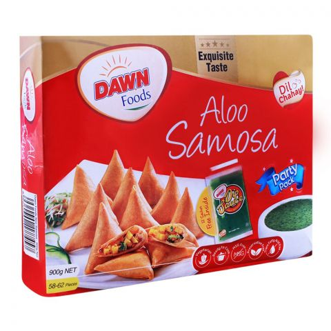 Dawn Aaloo Samosa, 58-62 Pieces, 900g
