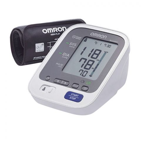 Omron Comfort Automatic Upper Arm Blood Pressure Monitor, M6