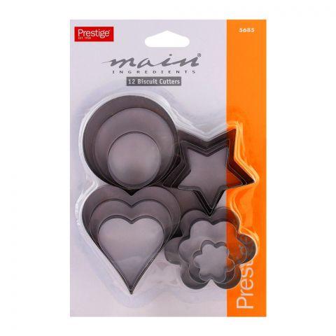 Prestige Biscuit Cutters 12-Pack - 5685