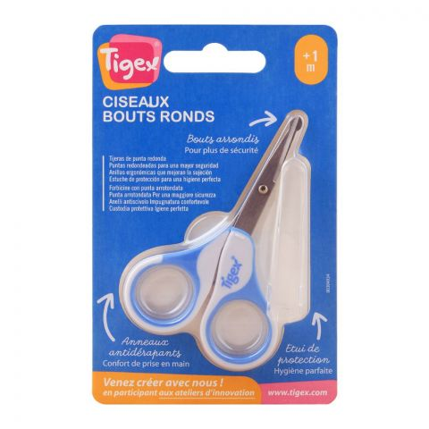 Tigex Round Ended Baby Scissors, 376000