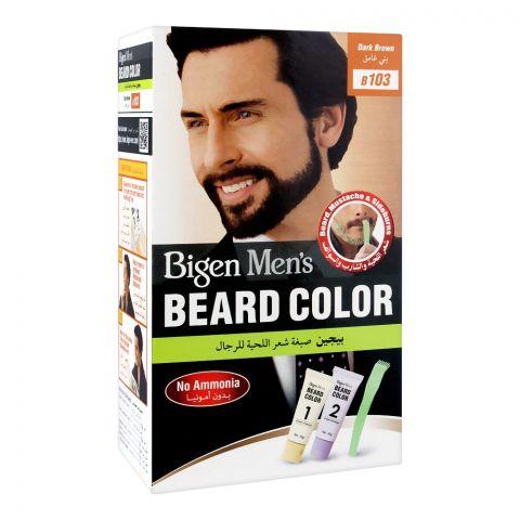Bigen Men's Beard Colour, Dark Brown B103