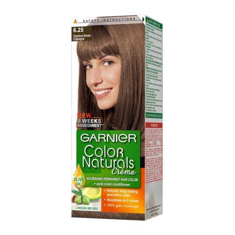 Garnier Color Naturals Creme Hair Colour, 6.25 Chesnut Brown