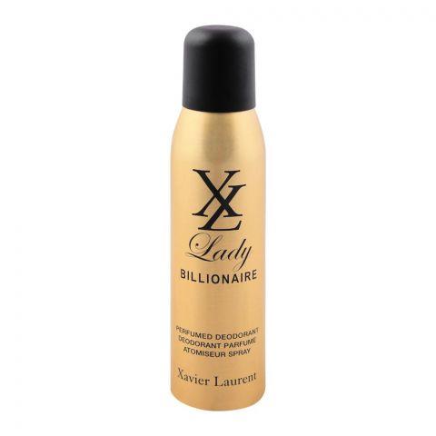 Xavier Laurent Lady Billionaire Deodorant Body Spray, 150ml