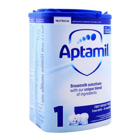 Aptamil No. 1, First Infant Milk, Birth to 6 Months, 800g