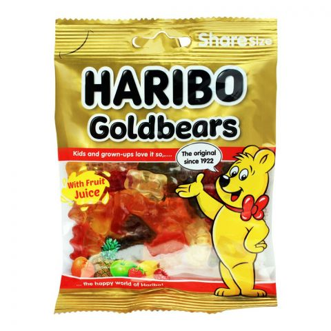 Haribo Gold Bears Jelly, Share Size Pouch, 80g