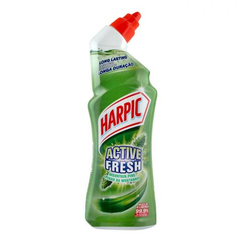 Harpic Active Fresh Toilet Cleaner, Mountain Pine, 750ml