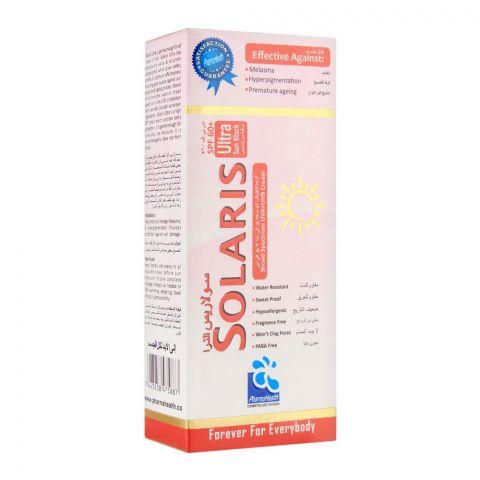 Solaris Ultra SPF 60+ Sun Block, Hypoallergenic, Fragrance & Paraben Free, 60ml
