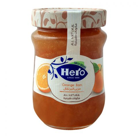 Hero All Natural Orange Jam, 350gm