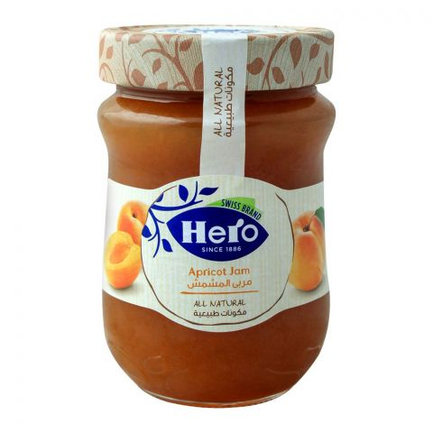 Hero All Natural Apricot Jam, 350gm