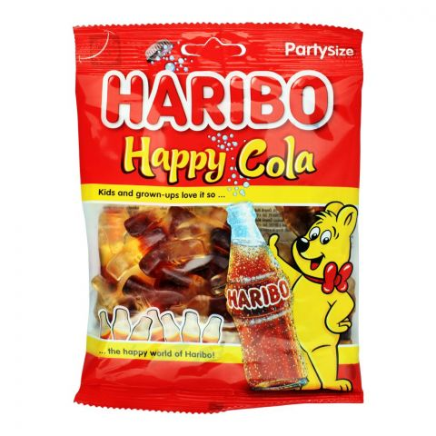 Haribo Happy Cola Jelly, Party Size Pouch, 160g