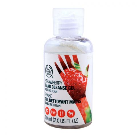 The Body Shop Strawberry Hand Cleanse Gel, 60ml