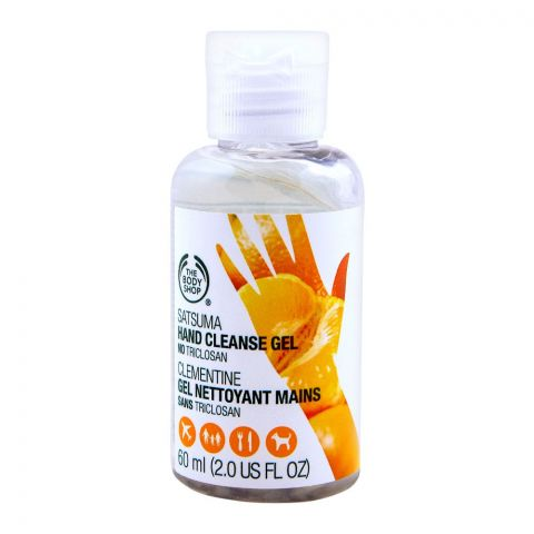 The Body Shop Satsuma Hand Cleanse Gel, 60ml