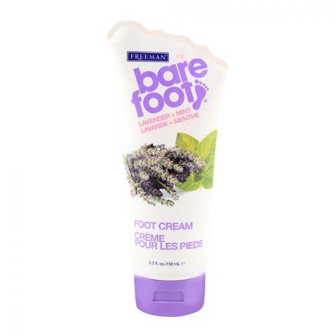Freeman Bare Foot Lavender & Mint Foot Cream 150ml