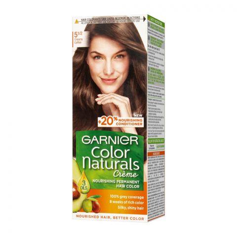 Garnier Color Naturals Creme Hair Colour, 5.5 Creamy Coffee