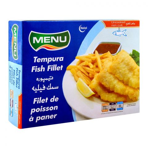 Menu Tempura Fish Fillet 500g