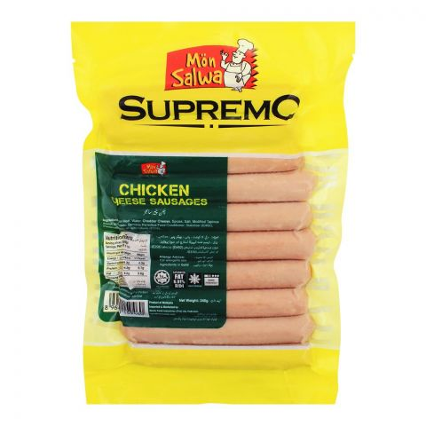MonSalwa Supremo Chicken Cheese Sausages