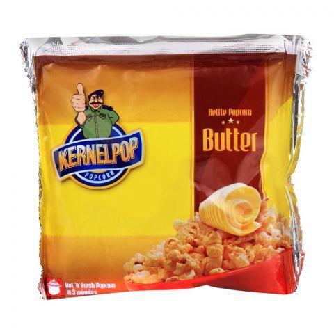 KernelPop Popcorn, Butter, Single Pack, 80g