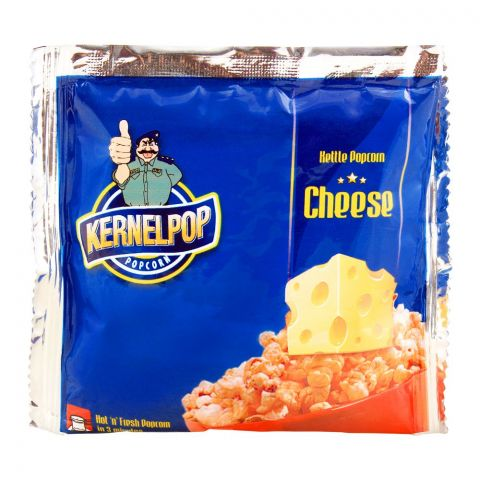 KernelPop Kettle Popcorn, Cheese, 80g