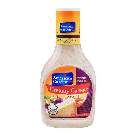 American Garden Creamy Caesar Dressing 16oz/473ml