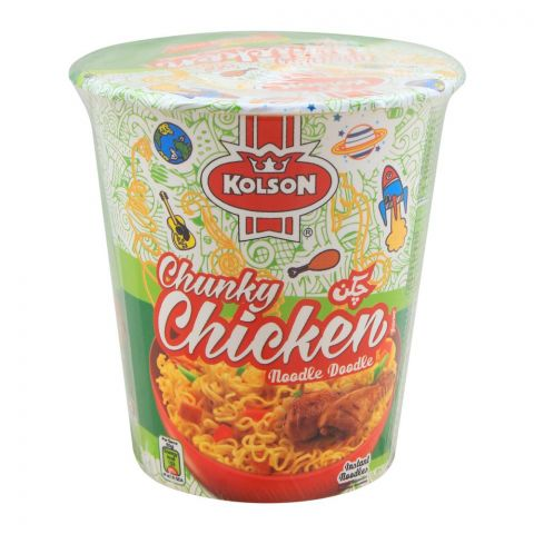 Kolson Cup Instant Noodles, Chunky Chicken, 50g