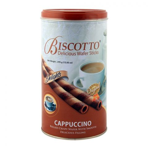 Biscotto Cappuccino Wafer Stick 370gm