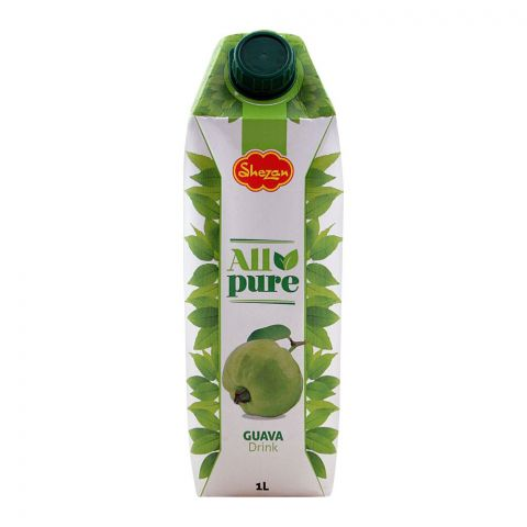Shezan All Pure Guava Fruit Drink, 1 Liter