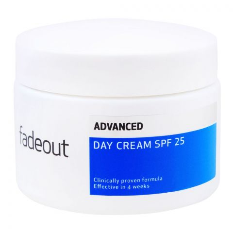 Fade Out Advanced Whitening Day Cream, SPF 25, 50ml