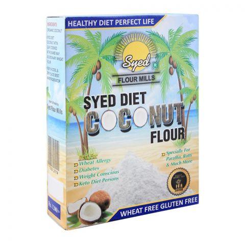 Syed Flour Mills Coconut Diet Atta, Wheat & Gluten Free, 1 KG