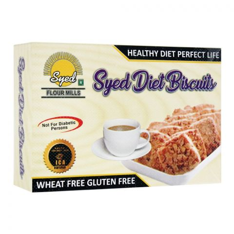 Syed Flour Mills Diet Biscuits, Wheat & Gluten Free