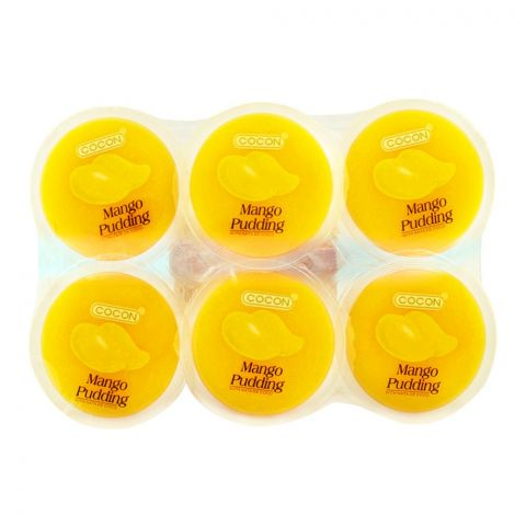 Cocon Mango Pudding, 6 Pieces, 80g