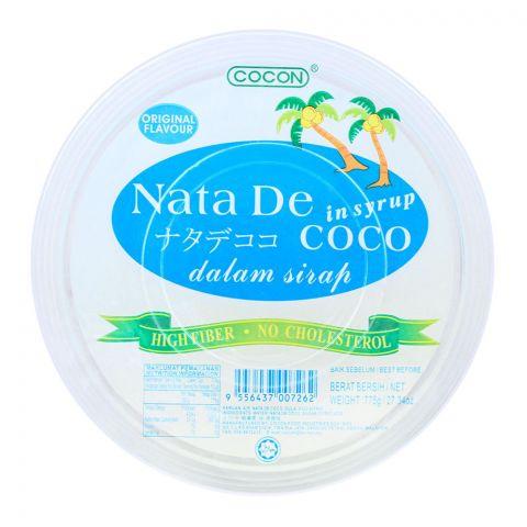 Cocon Nata De Coco In Syrup, Original Flavour, 775g