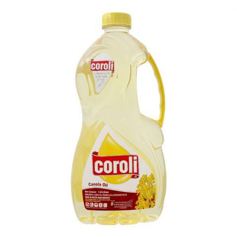 Coroli Pure Canola Oil, 1.8 Liter