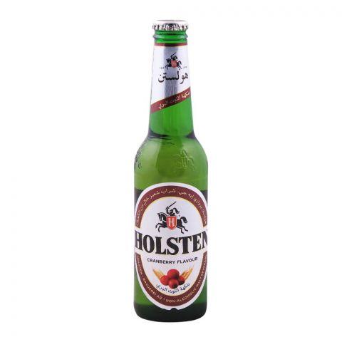 Holsten Cranberry Malt Drink, Non Alcoholic, Bottle, 330ml