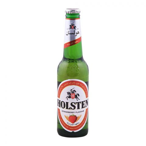 Holsten Strawberry Malt Drink, Non Alcoholic, Bottle 330ml